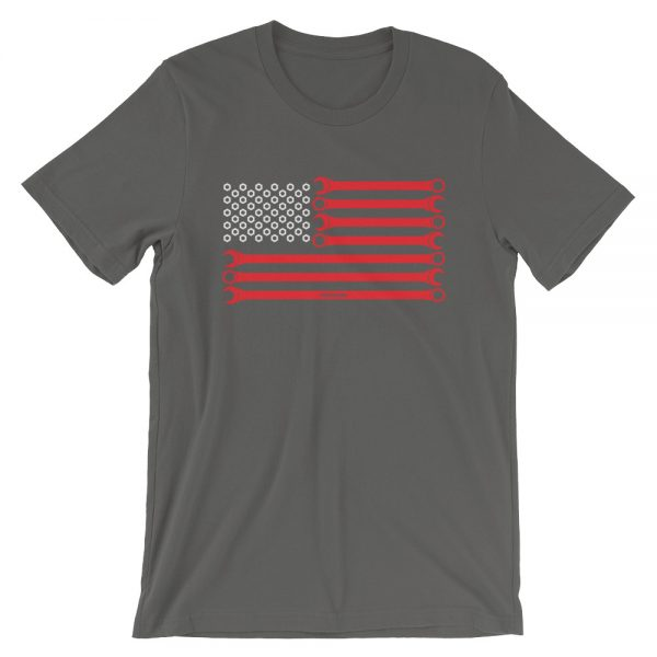 American Flag - Wrenches and Nuts t-Shirt
