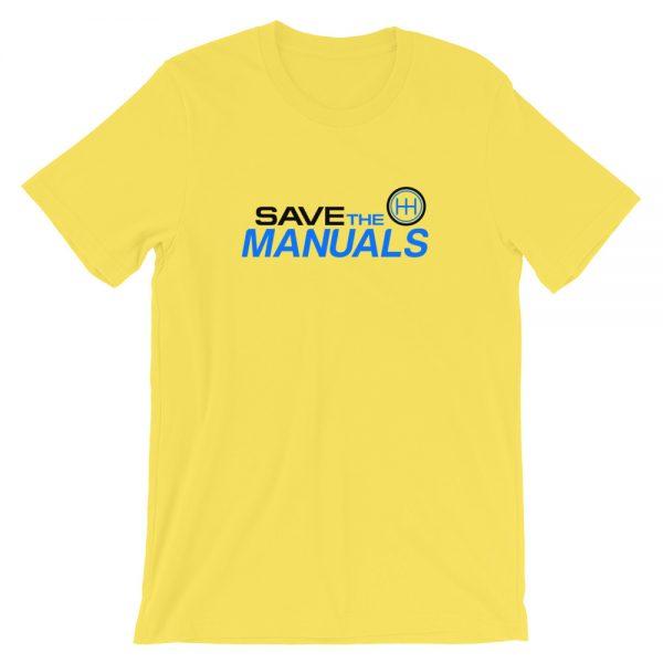 Race Car Shirts - Car Lifestyle Apparel - Save The Manuals Shirt