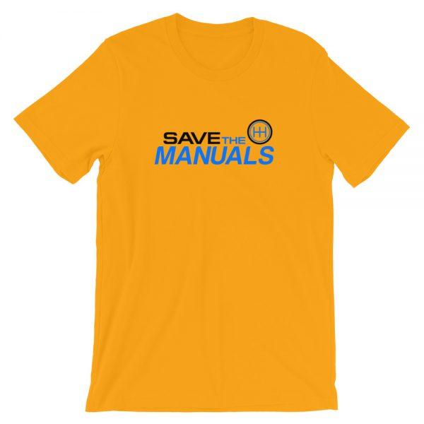 Automotive Enthusiast Apparel Car Lifestyle Apparel - Save The Manuals Shirt