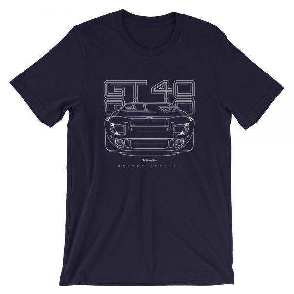 ford, gt40, ken miles, shirt