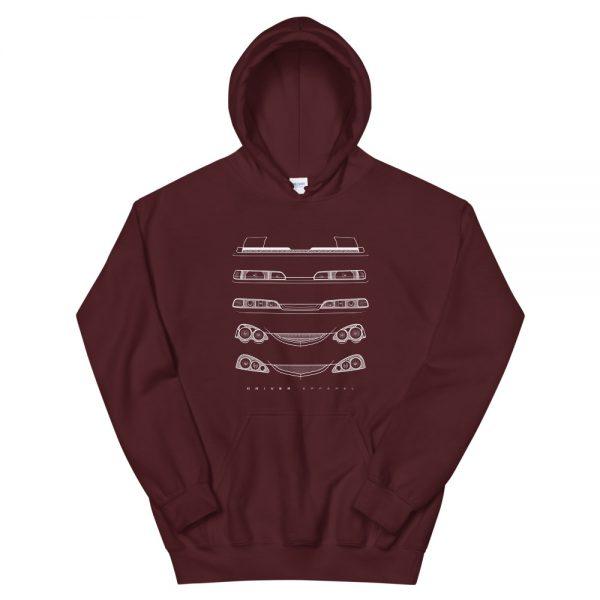 integra, honda, dc2, hoodie