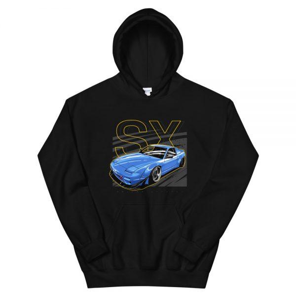 240sx hoodie, nissan 240sx hoodie, silvia s13 hoodie, stance