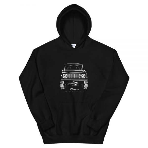 Classic Ford Bronco Hoodie